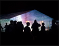 Beacons Social Tent Projections